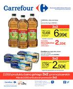 Ofertas de Carrefour, 2000 produktu baino gehiago 3x2 promozioarekin