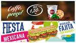 Ofertas de Subway, Fiesta mexicana