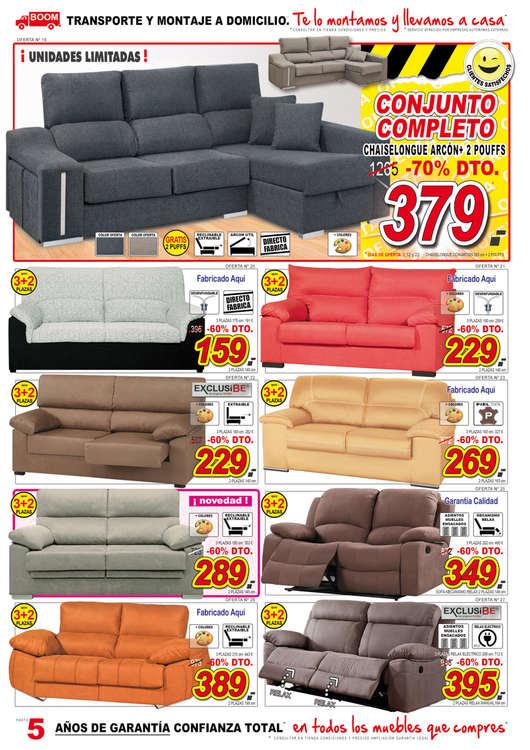 Comprar sof s barato en valladolid ofertia for Ofertas muebles valladolid