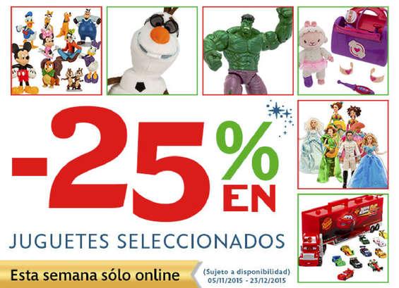 Ofertas de Disney Store, -25% en juguetes