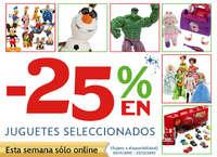 -25% en juguetes