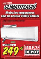 Ofertas de Bricodepot, Especial climatització - Cabrera
