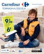 Ofertas de Carrefour, Tornada a l'escola