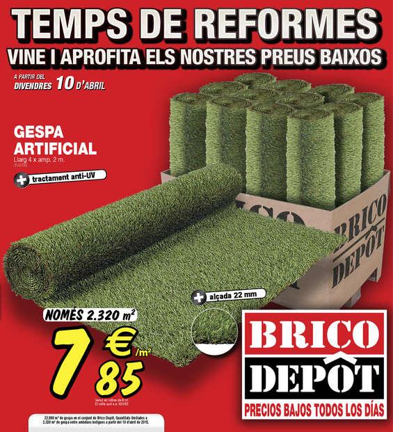 Ofertas de Bricodepot, Temps de reformes - Parets