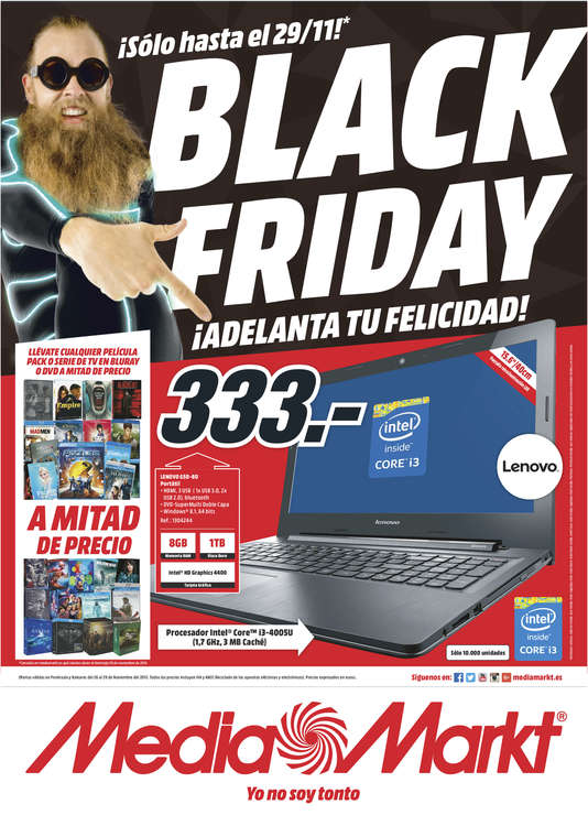 Ofertas de Media Markt, Black Friday  - León
