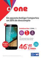 Ofertas de Vodafone, En aquesta botiga t'emportes un 20% de descompte