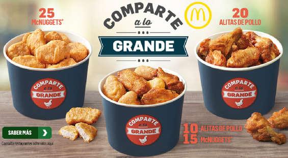 Ofertas de McDonald's, Comparte a lo grande