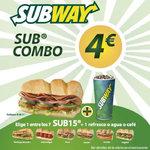 Ofertas de Subway, Promoción 4€