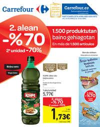 2. alean -70% 1.500 produktutan baino gehiagotan