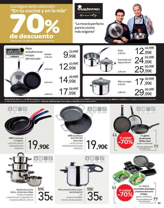 Ofertas de Carrefour, 2. alean -70% 1.500 produktutan baino gehiagotan
