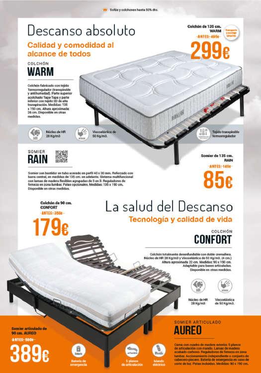 Comprar somier de laminas barato en zaragoza ofertia for Muebles rey bilbao