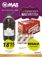 Ofertas de Supermercados MAS, La Semana Santa más nuestra