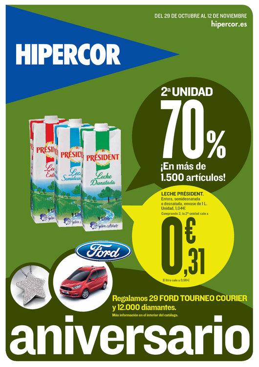 Ofertas de HiperCor, 2a unidad 70%