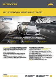 Viu l'experiència Michelin Pilot Sport
