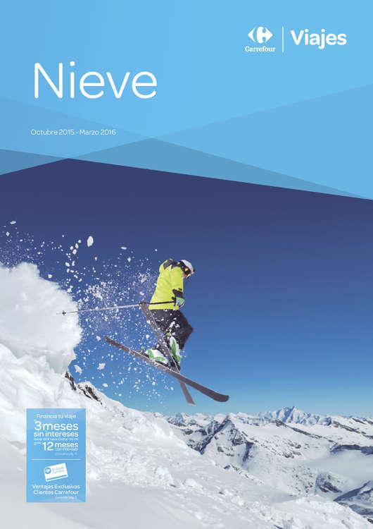 Ofertas de Carrefour Viajes, Nieve 2015-2016