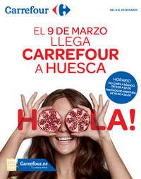 El 9 de marzo llega Carrefour a Huesca