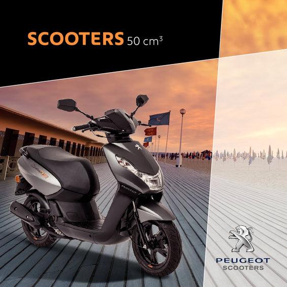 Ofertas de Peugeot, Scooters 50cc