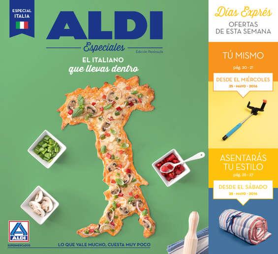 Ofertas de ALDI, El Italiano que llevas dentro