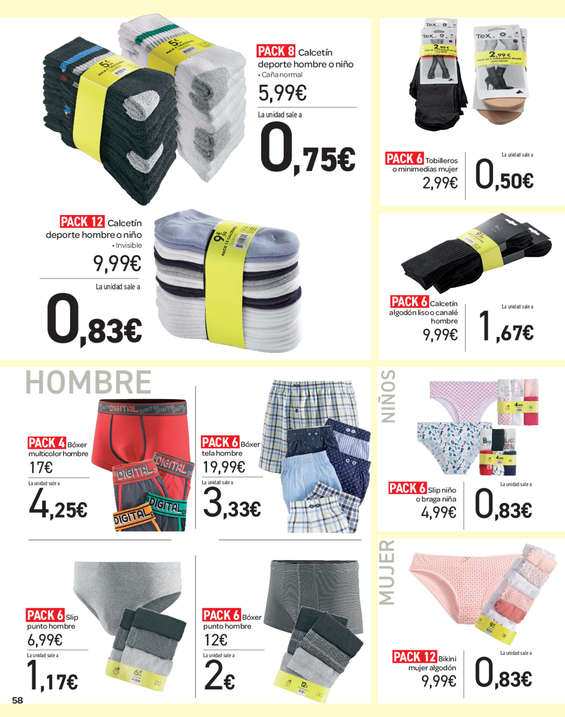Comprar ropa interior ni o barato en m laga ofertia - Ropa interior carrefour ...