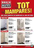 Ofertas de Bricodepot, Tot mampares - Cabrera de mar
