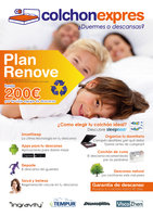 Ofertas de Colchón Exprés, ¡Plan Renove! Hasta -200€ por tu viejo equipo