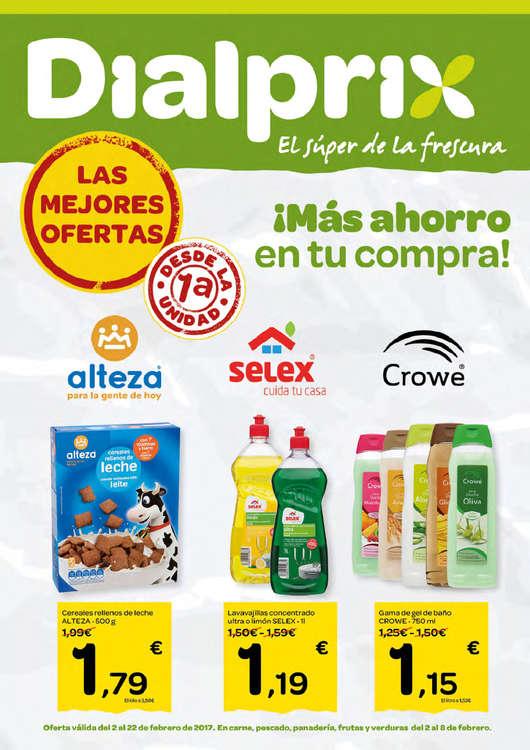Ofertas de Dialprix, ¡Más ahorro en tu compra!