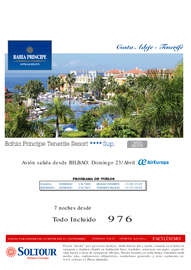 Costa Adeje. Tenerife