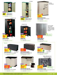 Casas cocinas mueble armarios pvc carrefour - Armario exterior carrefour ...
