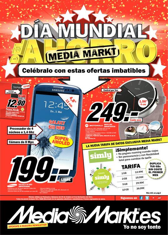 Ofertas de Media Markt, Día Mundial del Ahorro