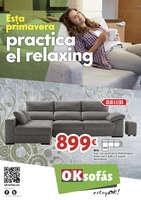 Ofertas de OKSofas, Esta primavera practica el relaxing