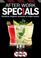 Ofertas de TGI Fridays, After Work