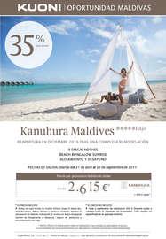 Oportunidad Maldivas