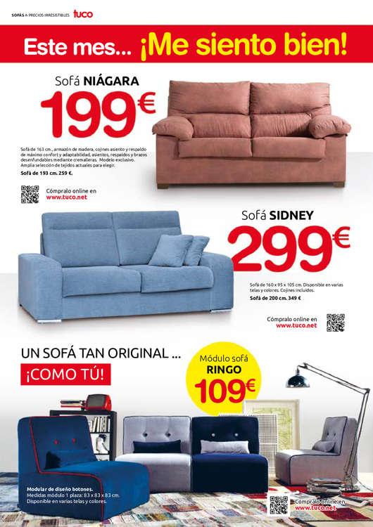Comprar sof s barato en irun ofertia for Muebles tuco irun