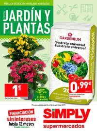 Especial jardín y plantas 2017