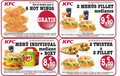 KFC: Promociones
