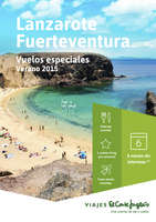 Ofertas de Viajes El Corte Inglés, Lanzarote y Fuerteventura