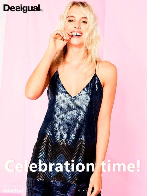 Ofertas de Desigual, Celebration time!