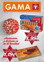 Ofertas de Supermercados Gama, Adelántate y disfruta ya de la Navidad