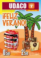 Ofertas de Supermercados Udaco, ¡Feliz verano!