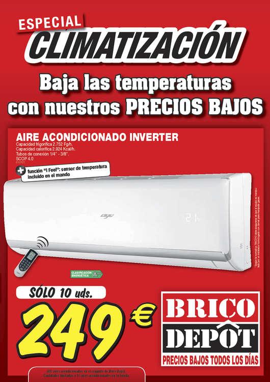 Ofertas de Bricodepot, Especial climatización- Toledo