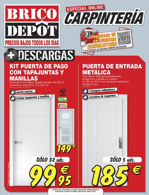 Ofertas de Bricodepot, Especial carpintería - San Antonio