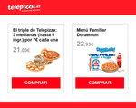 Ofertas de Telepizza, Promociones