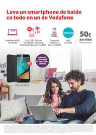 Leva un smartphone de balde co todo en un de Vodafone