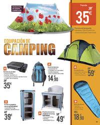 Camping, Playa, Piscina y Jardín