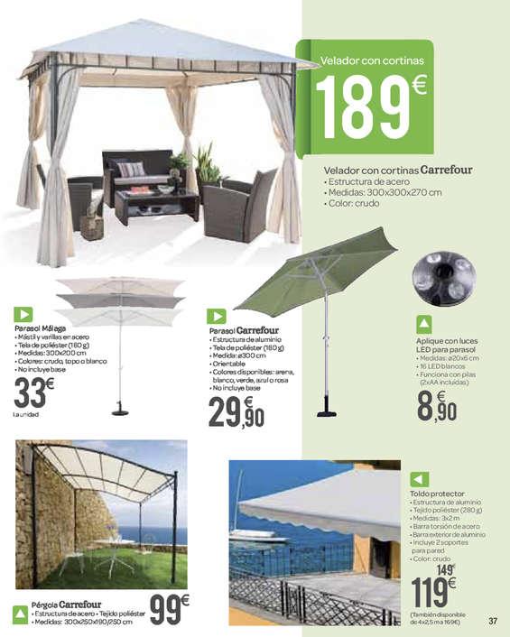 Ofertas de Carrefour, Camping, Playa, Piscina y Jardín
