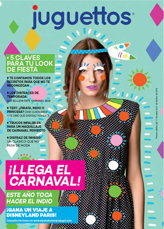 Ofertas de Juguettos, ¡Llega el Carnaval!