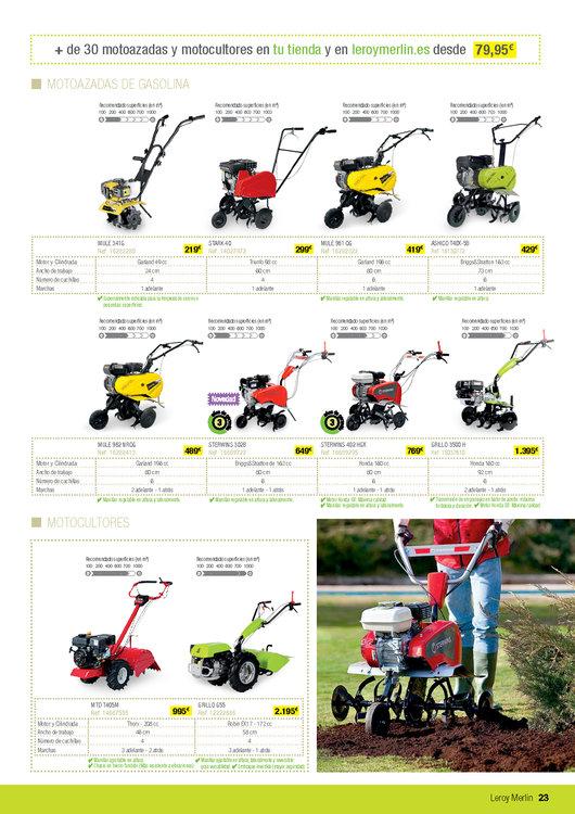 Comprar motocultor en madrid motocultor barato en madrid - Leroy merlin jardin maquinaria le mans ...