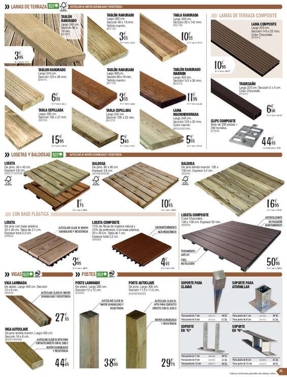 Bricodepot maderas ofertas y cat logos destacados ofertia - Ofertas de bricodepot ...
