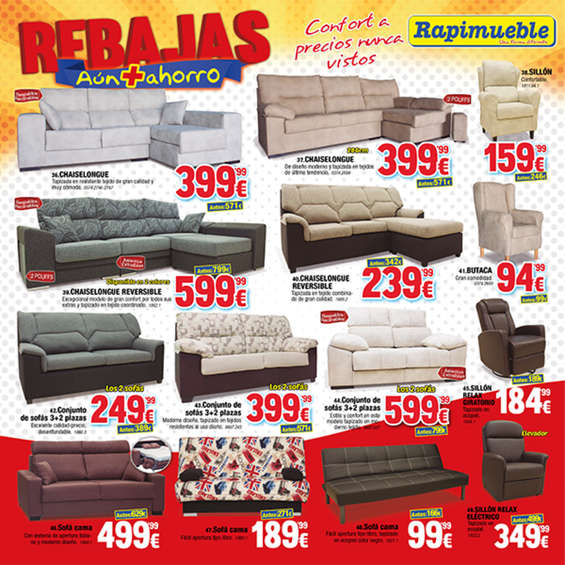 Comprar sof cama barato en roquetas de mar ofertia - Rapimueble catalogo 2016 ...