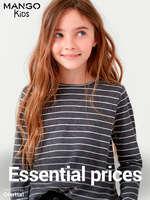 Ofertas de Mango Kids, Essential prices